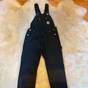 Black Carhart Overalls